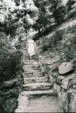 Barbie Hiking Down Off Silver Falls Trail