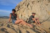 Tanya And Dave Kick Back Near Baja's Tip