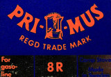 Early 70's  Primus Stove  Logo