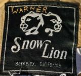 Old Snow Lion  Label