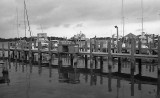 Docks before a storm