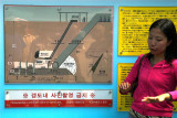 Guide explains features of the Third Invasion Tunnel constructed by North Korea