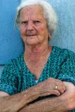 Woman in Marsaxlokk, Malta