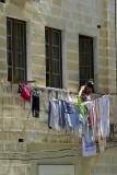 Washing day in Valletta