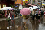 Rainy day, Namdaemun Market