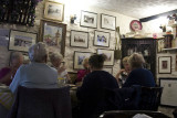Inside a tea room, Hay-on-Wye