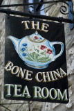 Tea room sign, Hay-on-Wye