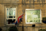 Hotel window, Stow-on-the- Wold