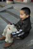 Child visitor, Wutai Shan