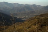 Looking back on Taihuai, Wutai Shan National Park