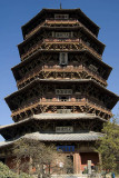900-year old Wooden Pagoda, Yingxian