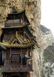 At the Hanging Monastery, Shanxi, in 2008