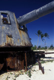 World War II guns at Betio
