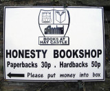 Bookstore sign, Hay-on-Wye [BJG]