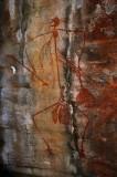 Rock art, Ubirr Rock, Kakadu NP