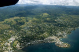 Honiara from the air