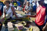 Morning market in Auki