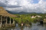 Houses at Langalanga Lagoon