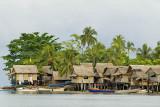 Lilisiana village, across the bay at Auki