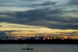 Sunset over Langalanga Lagoon