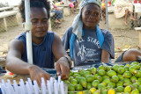 Stallholders selling betelnut