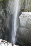Snowmelt waterfall, Vilyuchinsky Volcano