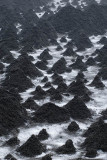 Ice mounds at the foot of Avachinsky Volcano