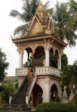 Drum tower, Wat Sainyaboum