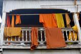Monks' robes, Wat Sainyaboum