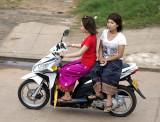 Easy riders, from my balcony...