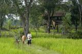 Farm home outside Ban Phon Sim