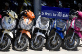 Motorbikes for hire
