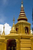 Golden spires of Wat Klang