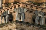 CHIANG MAI Wat Chedi Luang detail