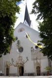 Centuries-old parish church, Radovljica