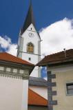 Church spire, Radovljica