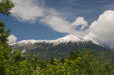 Mountain views from Radovljica include Triglav, at 2864m the highest in Slovenia