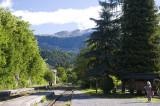 Waiting for the train, Bled Jezero