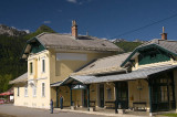 The station at Bohinjska Bistrica