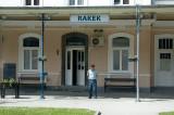 Rural stationmaster, Rakek