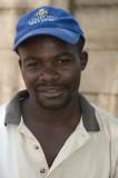 Street trader, Victoria Falls