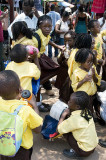 Schoolchildren, Victoria Falls