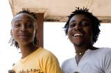 DJ and friend, Zimbabwe