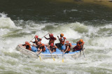 Rafting the Zambesi at Victoria Falls, Zambia