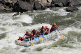 Rafting the Zambesi