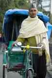 Mussoorie trishaw driver