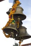 Hindu temple  bells