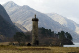 Glenfinnan Monument to the ill-fated landing of Bonnie Prince Charlie