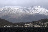 Arran blanketed in snow in mid-March