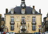 The old mairie (town hall) at Mayenne